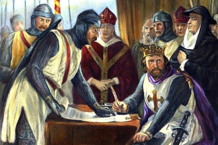 medieval lord and magna carta